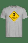 """Мъжка тениска """"Genius at work"""""""