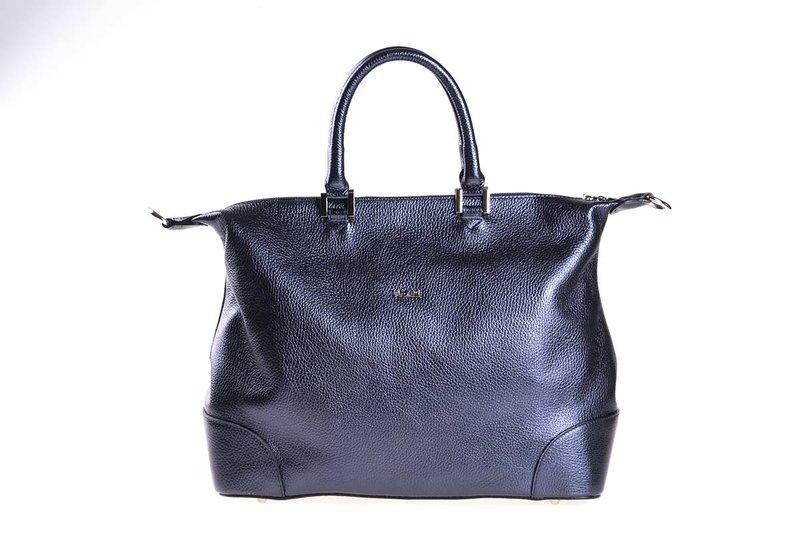 Дамска чанта UGGARI Milano с две къси дръжки в синьо