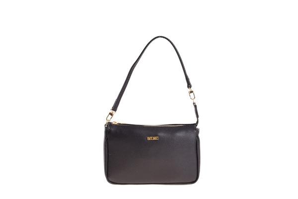 Дамска малка чанта UGGARI Milano с изчистен дизайн в черно
