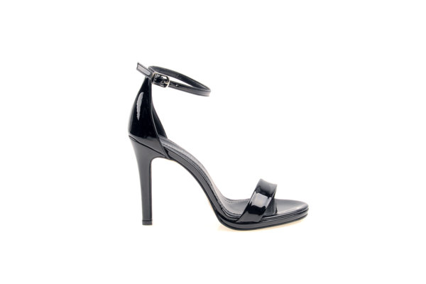 Дамски елегантни сандали Aquamarine на висок ток в черно