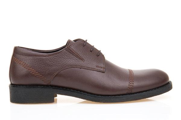 Мъжки елегантни обувки Aquamarine в кафяво