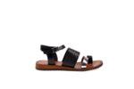 Дамски сандали Aquamarine в черно и златисто