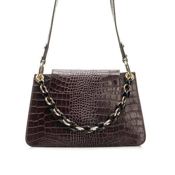 Дамска чанта от естествена кожа 9W-6213-2