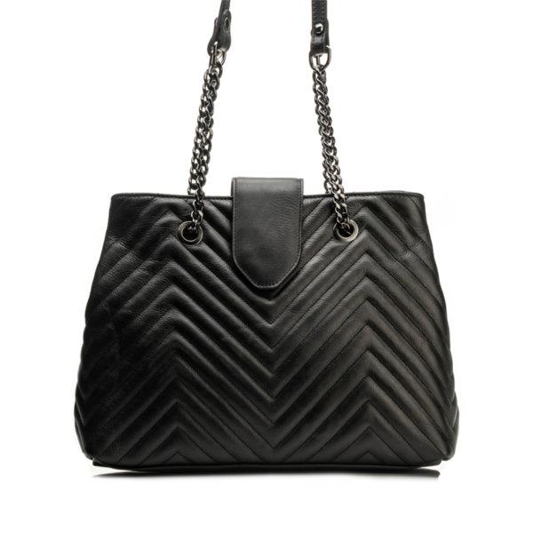 Дамска чанта от естествена кожа 9W-6205-1