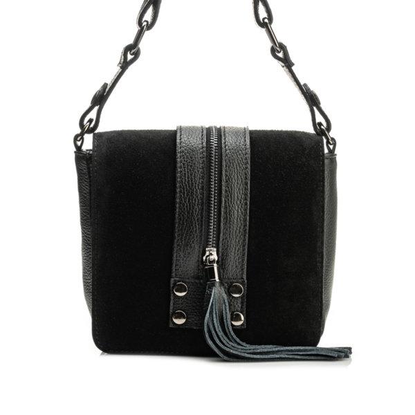 Дамска чанта от естествена кожа 9W-544151-1