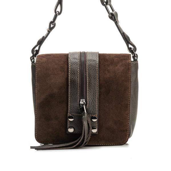 Дамска чанта от естествена кожа 9W-544151-2