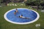 Madagascar Комплект вкопани басейни кръг 150 см