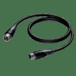 Procab CLА901/3, XLR(Canon) M - XLR(Canon) F, 3m, позлатени конектори