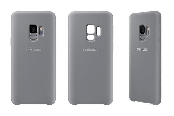 Калъф/протектор/ за Samsung Galaxy S9 Silicone Cover, Grey
