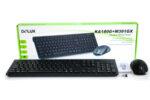 Комплект безжична клавиатура и мишка Delux KA180G+M391GX БДС кирилизирана