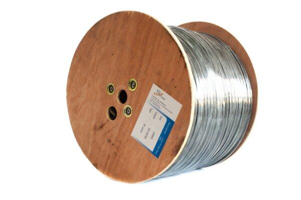 LAN кабел FTP CAT5e  -  меден + два помеднени захранващи проводника 2*1.00mm