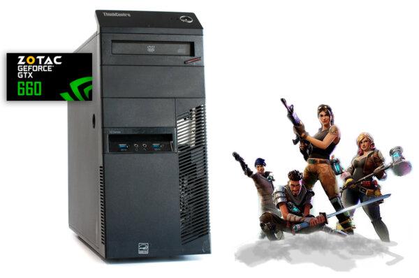 Настолен компютър Lenovo ThinkCentre M83 с Zotac GTX 660 2GB /192bit /GDDR5/ i5-4460/ 8GB/ 500GB HDD