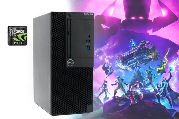 Настолен компютър Dell OptiPlex 3050 с GeForce GTX 1050 Ti 4GB GDDR5 128-bit, i7-6700/ 8GB/ 512GB SSD
