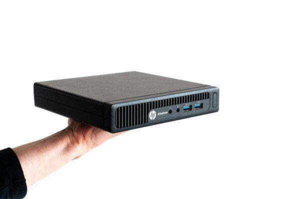 Настолен компютър HP EliteDesk 705 G2 Mini PRO A6-8500B/ 4GB/ 500GB HDD