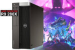 Dell Precision T5600 със AMD Radeon R9 280 3GB 384bit GDDR5