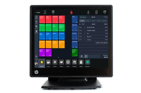 POS терминал HP RP7 Retail System  Model 7800 i5-2400S/ 4GB/ 128GB SSD