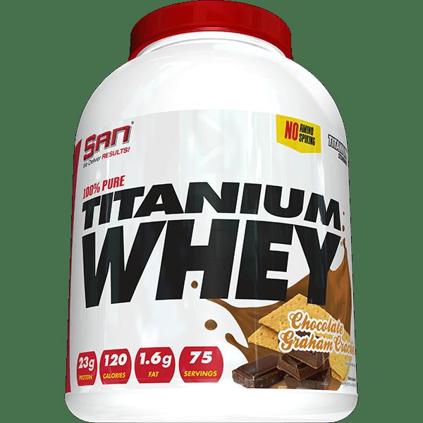 Нашето мнение за: 100% Pure Titanium Whey SAN