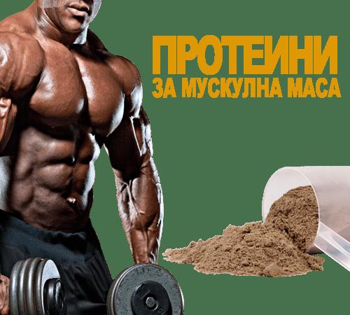 Прием на протеини на прах за мускулна маса