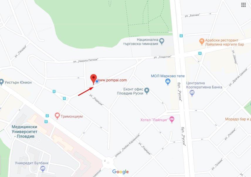 Виж в GOOGLE MAPS