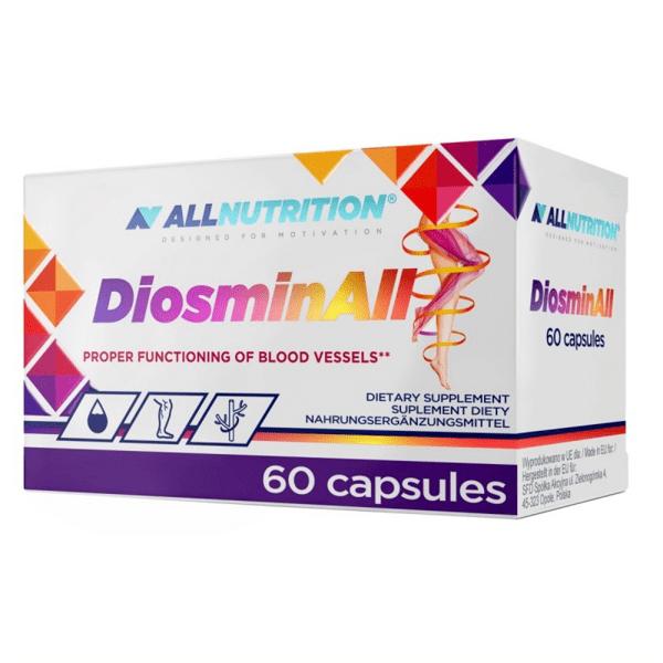 За Здрави Кръвоносни Съдове Diosminall AllNutrition 60 капсули