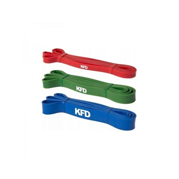 Ластици за Тренировка Комплект 3 броя с различно натоварване KFD