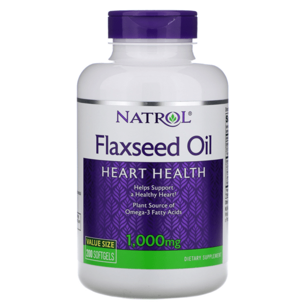 Flax Seed Oil Ленено Масло Natrol 200 дражета