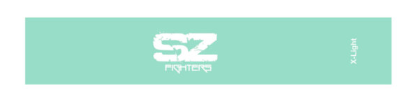 Тренировъчен ластик в кръг Светлосин 4.5 - 7кг SZ Fighters 30см