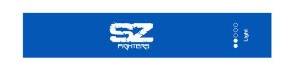 Тренировъчен ластик в кръг Син 7 - 9кг SZ Fighters 30см