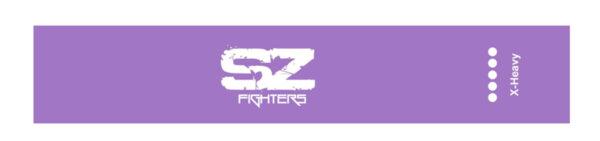 Тренировъчен ластик в кръг Лилав 19 - 23кг SZ Fighters 30см