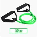 Фитнес Ластик за Тренировка с Ръкохватки SZ Fighters Зелен 25кг