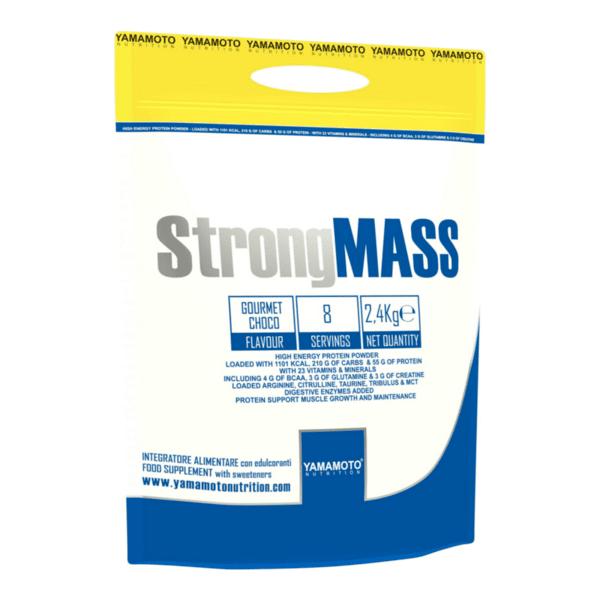 Гейнър за Мускулна Маса StrongMASS YAMAMOTO 2400 грама