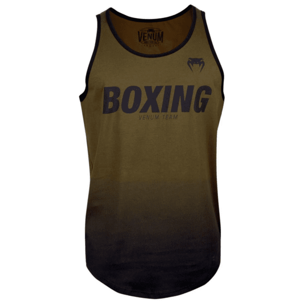 Мъжки Потник Boxing VT Tank Top VENUM Khaki/Black