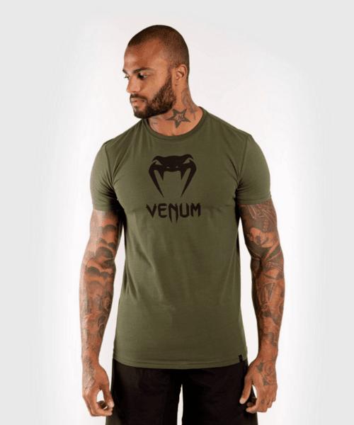 Тениска с Къс Ръкав Classic T-Shirt VENUM Khaki