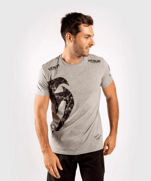 Тениска с Къс Ръкав Giant T-Shirt VENUM Grey/Black