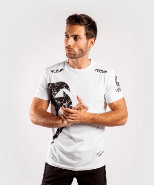 Тениска с Къс Ръкав Giant T-Shirt VENUM White/Black