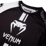 Рашгард с Къси Ръкави Giant Rashguard VENUM Black/White-Copy