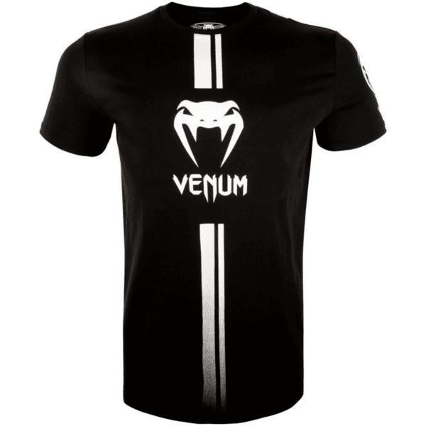Тениска Logos T-Shirt VENUM Black/White