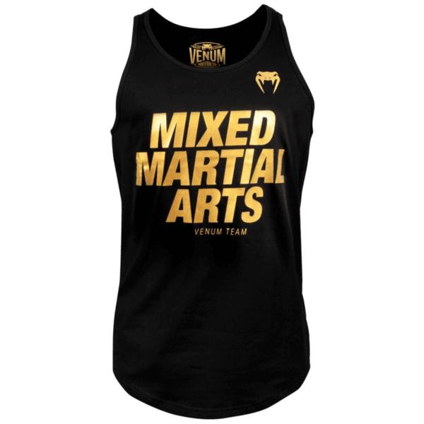 Мъжки Потник MMA VT Tank Top VENUM Black/Gold