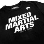 Тениска с Къс Ръкав MMA VT T-Shirt VENUM Black/Gold-Copy