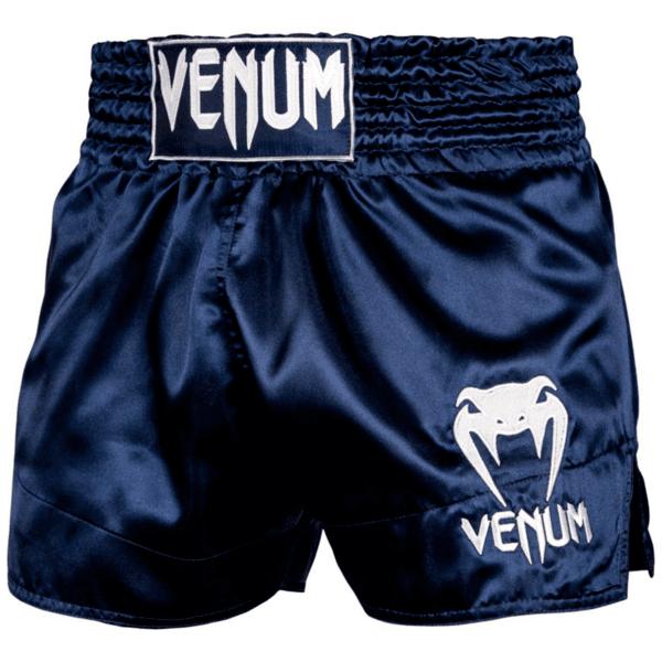 Муай Тай Шорти Muay Thai Shorts Classic VENUM Navy Blue/White