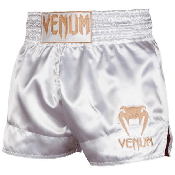Муай Тай Шорти Muay Thai Shorts Classic VENUM White/Gold