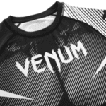 Рашгард с Къси Ръкави Logos Rashguard Short Sleeves VENUM Black/White-Copy