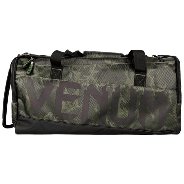 Тренировъчен сак Sparring Sport Bag VENUM Khaki/Camo