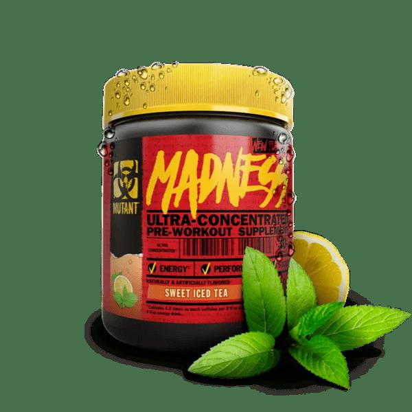 Азотен бустер Madness MUTANT 225 грама 30 дози