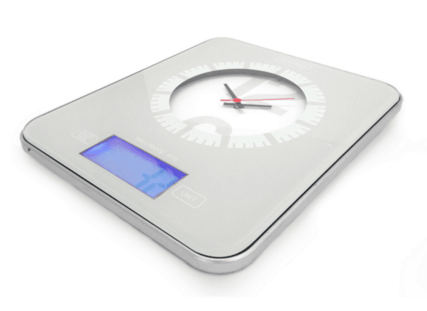 Електронна Кухненска Везна с Вграден Часовник Nerthus