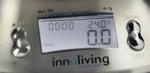 Електронна Кухненска Везна с Купа от Неръждаема Стомана Innoliving