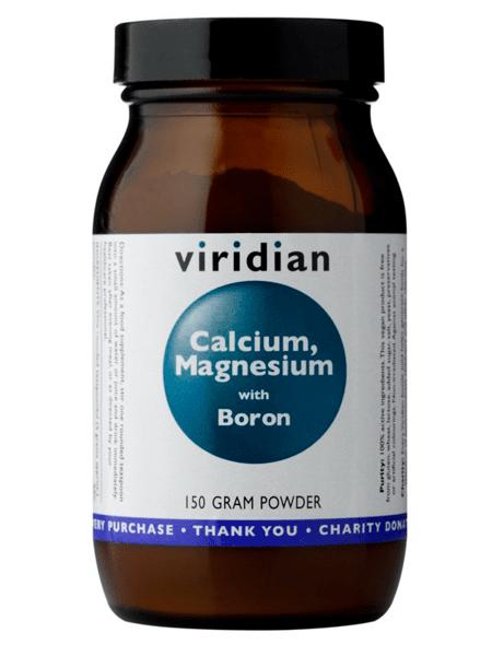 Калций, Магнезий и Бор Calcium, Magnesium with Boron Viridian 150 грама