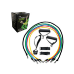 Комплект фитнес ластици за тренировка 11 части SZ Fighters-Copy