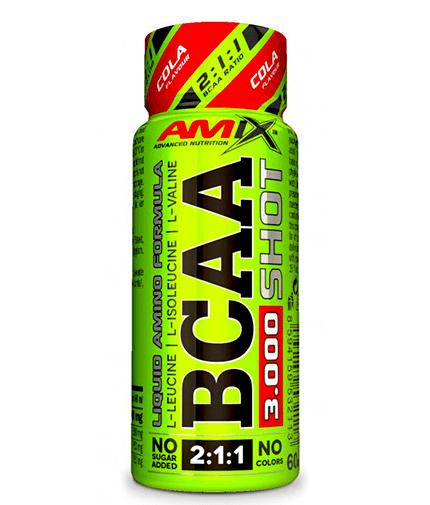 BCAA 3000 SHOT AMIX 1 шот х 60ml
