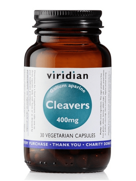 Еньовче 400mg Cleavers Viridian 30 веган капсули
